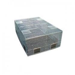 Cage à pigeon à cliquettes en kit 150x100x30