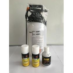 Pack Anti Puces et Punaises de Lit avec Pulverisateur