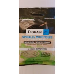Spirales Anti-Moustiques DIGRAIN