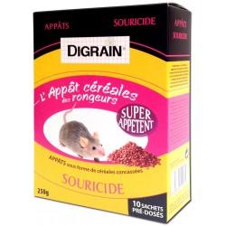 DIGRAIN L'Appât Céréales des Rongeurs (Souris)